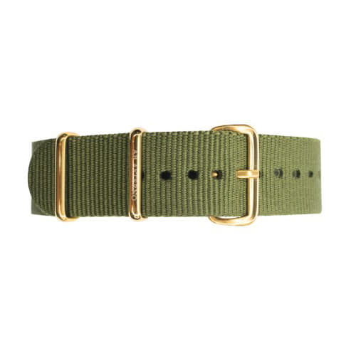 [에테르노시계 AETERNO] 40 BAND MILITARY GREEN (GOLD)