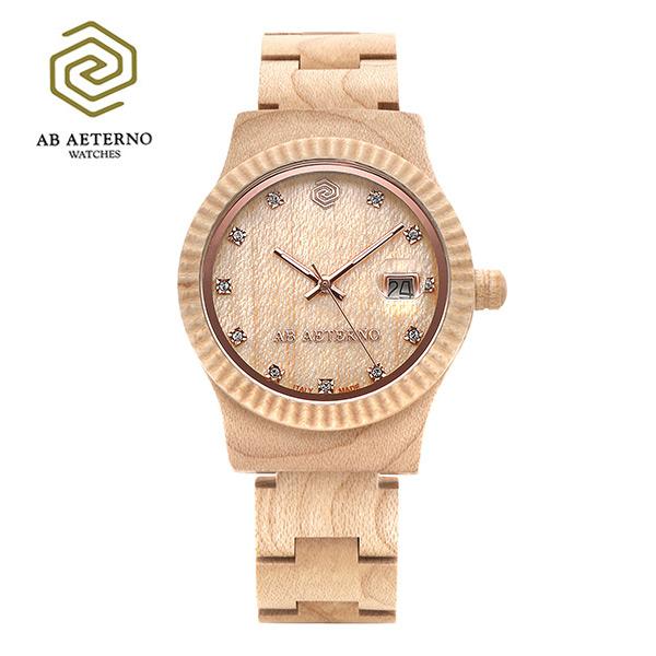[에테르노시계 AETERNO] ALBA / 알바 여성시계 (이태리 나무 시계)