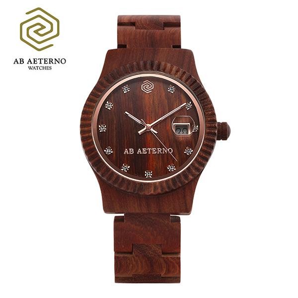 [에테르노시계 AETERNO] AURORA / 오로라 여성시계 (이태리 나무 시계)