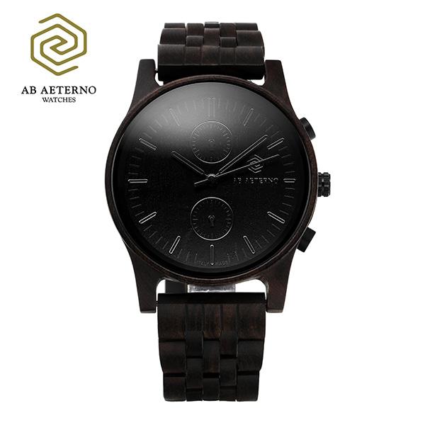 [에테르노시계 AETERNO] ENIGMA / 남성용 (이태리 나무시계)