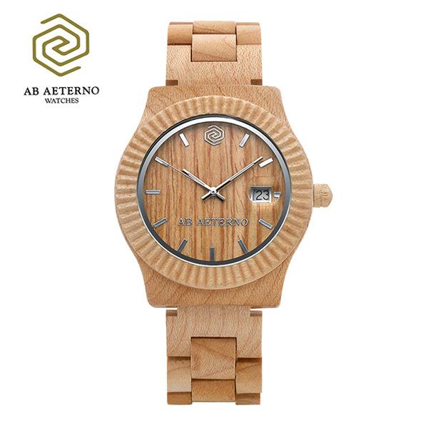 [에테르노시계 AETERNO] SUNRISE / 선라이즈 남녀공용시계 (이태리 나무 시계)