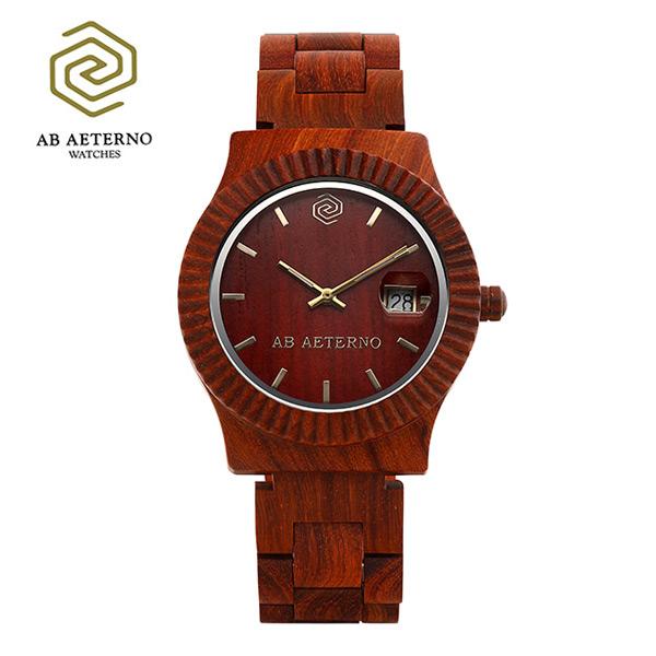 [에테르노시계 AETERNO] SUNSET / 선셋 남녀공용시계 (이태리 나무 시계)