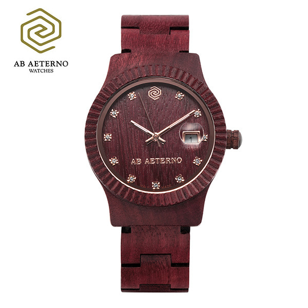 ★-) [에테르노시계 AETERNO] TRAMONTO / 트라몬트 여성시계 (이태리 나무 시계)