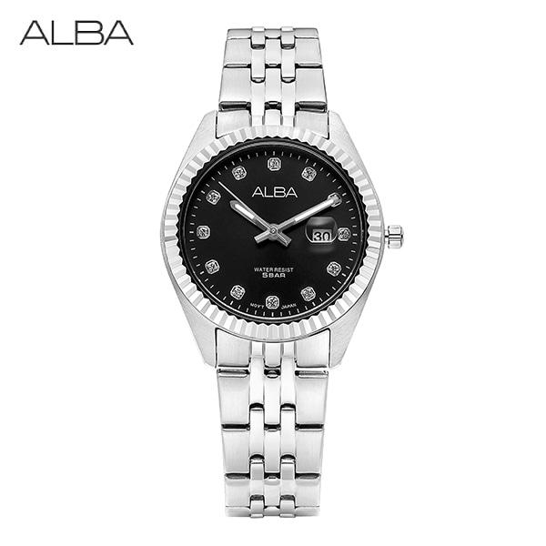 [세이코알바 ALBA] AH7T53X1 / AH7T53X 여성용 메탈시계 32mm 타임메카