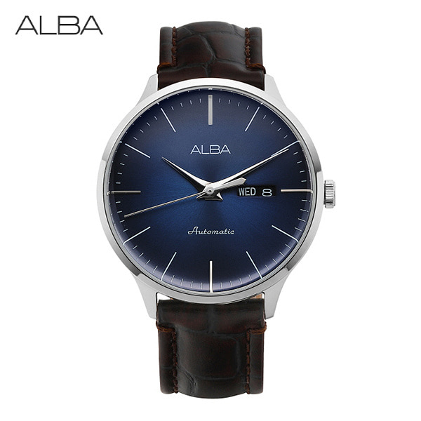 [알바시계 ALBA시계] AL4117X1 / AL4117X SignA 남성용 가죽시계 42.5mm