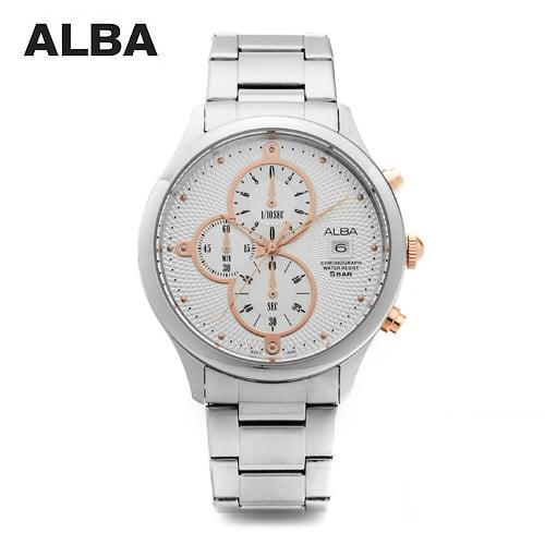 ☆-) [알바시계 ALBA시계] AM3119X / 크로노그래프 남성시계 Chronograph Mens 45mm