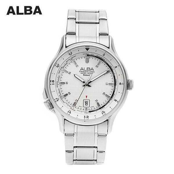 ☆-) [알바시계 ALBA시계] AS9487X / ACTIVE GENTS CO 카렌다 시계 41mm