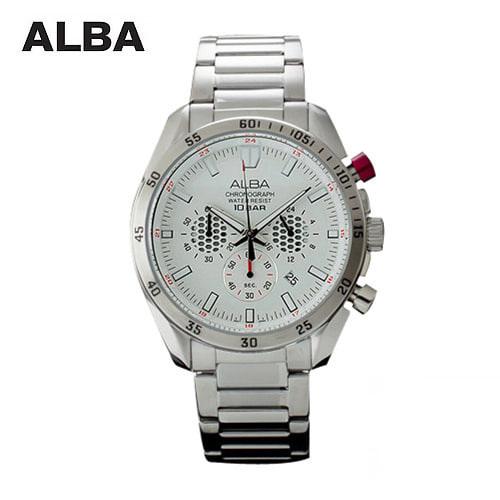 ☆-) [알바시계 ALBA시계] AT3547X / 크로노그래프 남성시계 Chronograph Mens 45mm