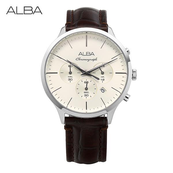 [알바시계 ALBA시계] AT3B45X1 / 시그나 크로노그래프 SignA Chronograph 43mm