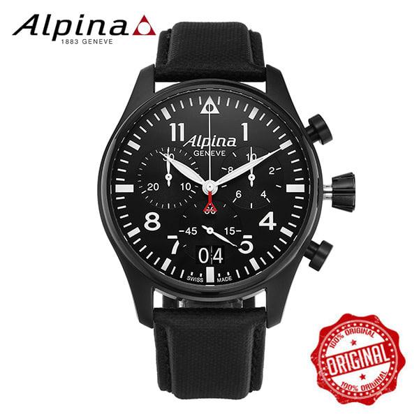 [알피나 ALPINA] AL-372B4FBS6 Startimer Pilot Big Date Chronograph 44mm