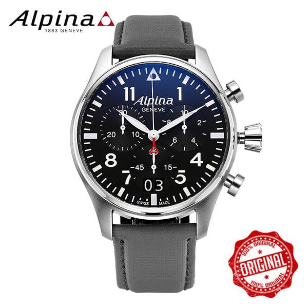 [알피나 ALPINA] AL-372B4S6 Startimer Pilot Big Date Chronograph 44mm