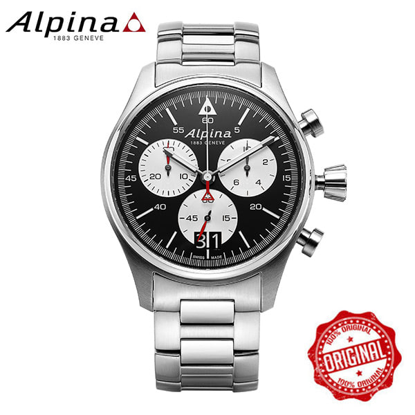 [알피나 ALPINA] AL-372BS4S6B Startimer Pilot Big Date 44mm