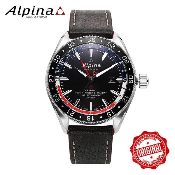 [알피나 ALPINA] AL-550GRN5AQ6 Alpiner 4 GMT Business Hours 45mm
