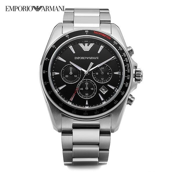 ★-) [알마니시계 ARMANI] AR6098 / Men Chronograph 44mm