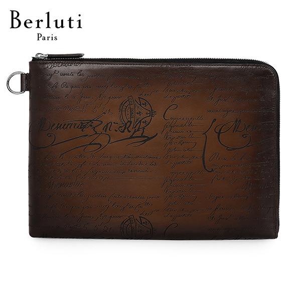 [벨루티 BERLUTI] M190161 / 니노 GM 레더 서류 홀더 클러치백 타임메카