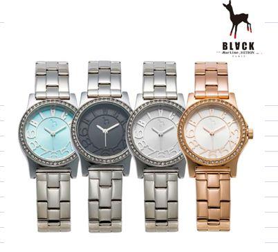 [블랙마틴싯봉 BLACKMARTINE] BKM1705 Cubic case watches  여성용 메탈 시계