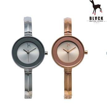 [블랙마틴싯봉 BLACKMARTINE] BKM1709 Simple case thin strap watches 여성용 메탈 시계