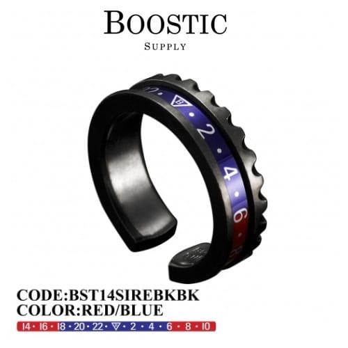 Jewelry-) [부스틱서플라이 BOOSTICSUPPLY] BST14SIREBLBK (블랙골드 플레이팅)