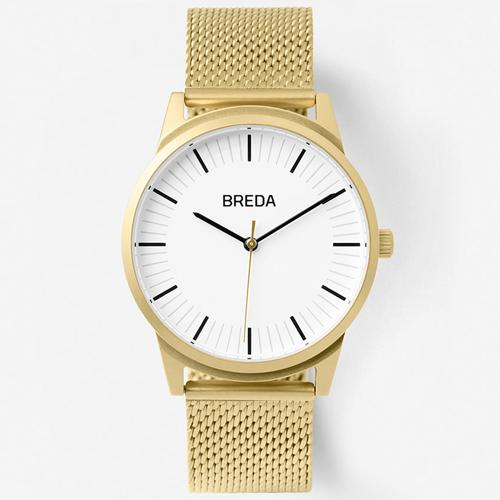 [브레다 BREDA] Bresson-Gold 5020G 매쉬밴드 39mm 브레슨