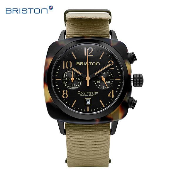 """[브리스톤 BRISTON] 410P5NK / ICON 아이콘 남녀공용 시계 나토밴드 40mm [""""이장우"""" 착용시계] 타임메카"""