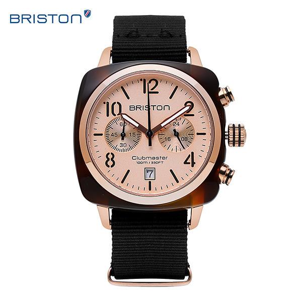 """[브리스톤 BRISTON] 410P6NB / ICON 아이콘 남녀공용 시계 나토밴드 40mm [아는형님 """"임영웅"""" 착용시계] 타임메카"""