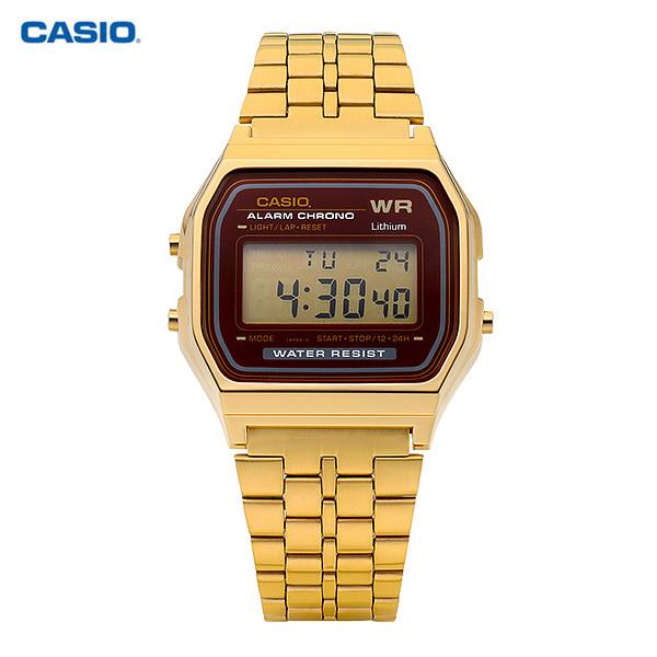 [카시오시계 CASIO] A159WGEA-5DF (A159WGEA-5D) 디지털 Alarm Chronograph 33mm
