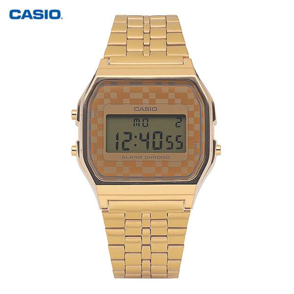 [카시오시계 CASIO] A159WGEA-9ADF (A159WGEA-9A) 디지털시계 37.5x33.5mm