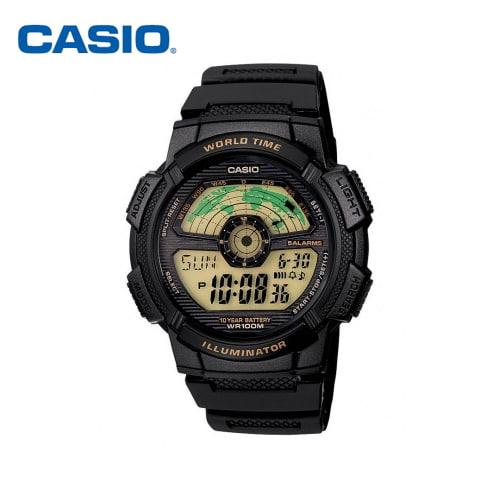 [카시오시계 CASIO] AE-1100W-1BVSDF (AE-1100W-1B) 아나디지라인,군인시계,스포츠시계 48x44mm