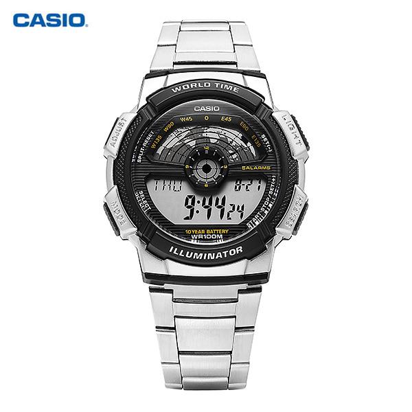 [카시오시계 CASIO] AE-1100WD-1AVSDF (AE-1100WD-1A) / 전자 디지털 군인 남성 메탈시계 48X43mm 타임메카