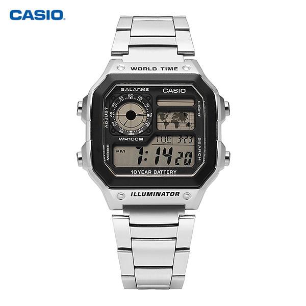 [카시오시계 CASIO] AE-1200WHD-1AVDF (AE-1200WHD-1A) 아나디지라인,군인시계,스포츠시계 타임메카