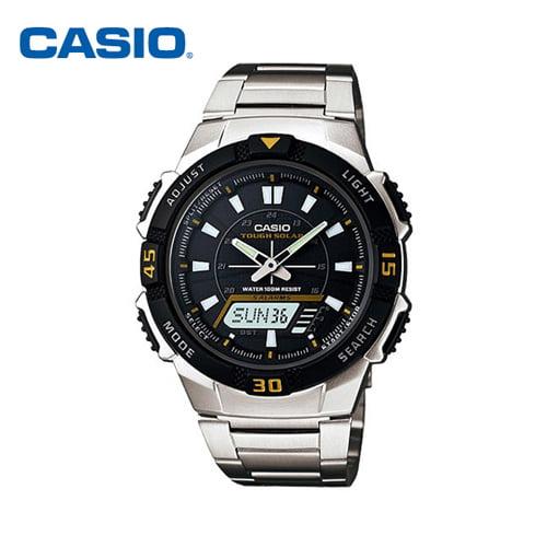 [카시오시계 CASIO] AQ-S800WD-1E / AQ-S800WD-1EVDF 아나디지라인,듀얼타임시계 42mm