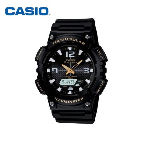 [카시오시계 CASIO] AQ-S810W-1BVDF (AQ-S810W-1B) 아나디지라인,듀얼타임시계 52x46mm