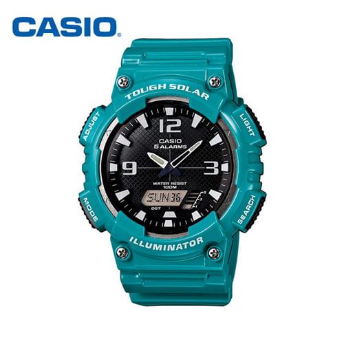 [카시오시계 CASIO] AQ-S810WC-3AVDF (AQ-S810WC-3A) 아나디지라인,듀얼타임시계 42mm