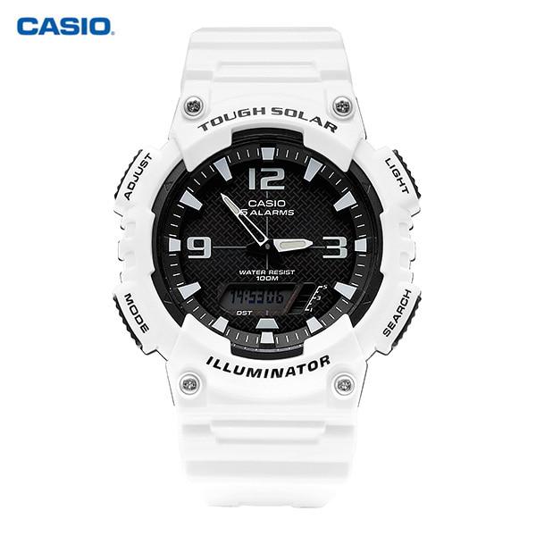 [카시오시계 CASIO] AQ-S810WC-7AVDF (AQ-S810WC-7A) 아나디지라인,듀얼타임시계 42mm