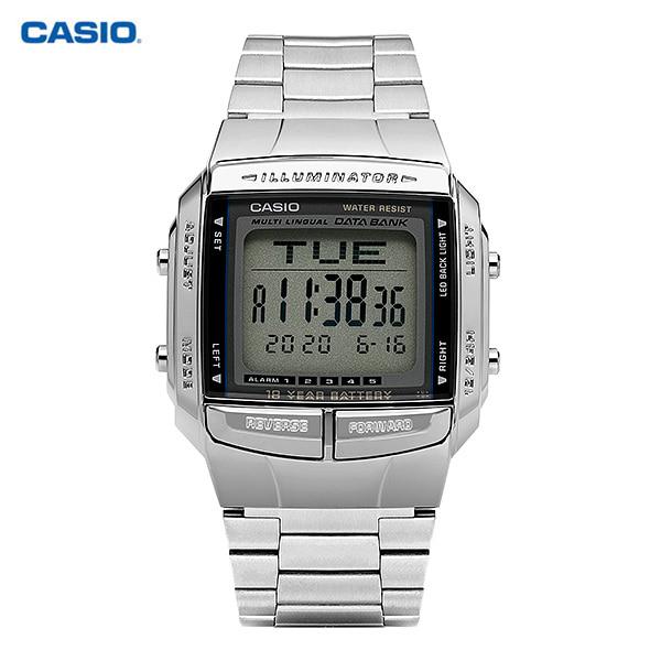 [카시오시계 CASIO] DB-360-1ASDF (DB-360-1A) / 전자 데이터뱅크 빈티지 남성 메탈시계 43X37mm 타임메카
