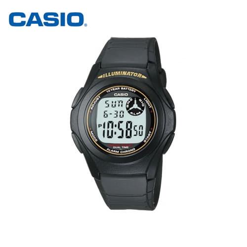 [카시오시계 CASIO] F-200W-9ASDF (F-200W-9A) 디지털우레탄 군인/스포츠 시계 40mm