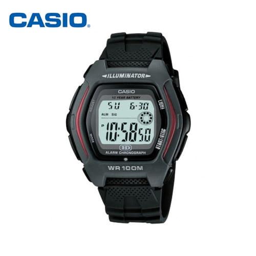 [카시오시계 CASIO] HDD-600-1AVDF (HDD-600-1A) 디지털우레탄 학생/군인/스포츠 시계 44x43mm
