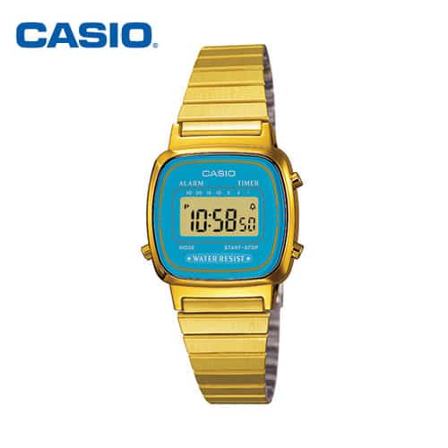 [카시오시계 CASIO] LA670WGA-2DF (LA-670WGA-2D) 빈티지디지털 23mm