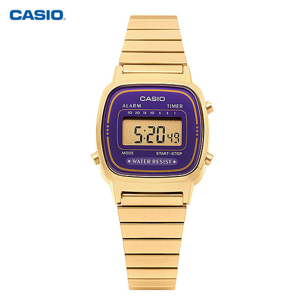 [카시오시계 CASIO] LA670WGA-6DF (LA-670WGA-6D) 빈티지디지털 23mm