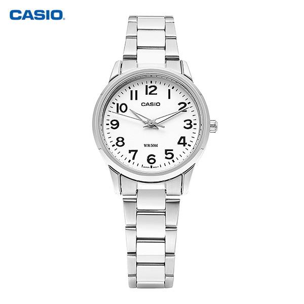[카시오시계 CASIO] LTP-1303D-7BVDF (LTP-1303D-7B) / 아날로그 여성 메탈시계 30mm 타임메카