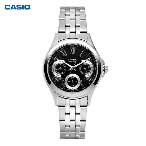 [카시오시계 CASIO] LTP-E308D-1AVDF 아날로그 시계 40mm