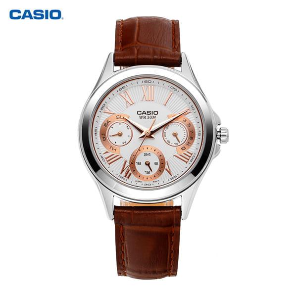 [카시오시계 CASIO] LTP-E308L-7A2VDF 아날로그 시계 40mm