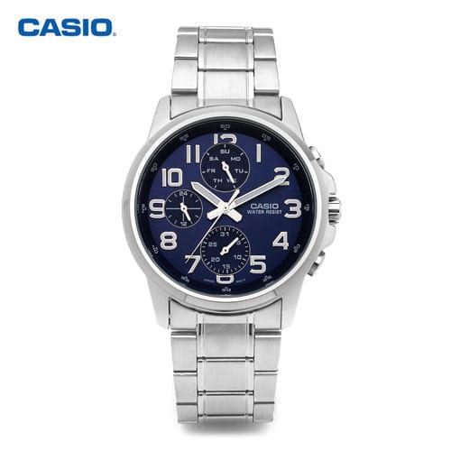[카시오시계 CASIO] MTP-E307D-2ADF (MTP-E307D-2A) 아날로그시계 40mm