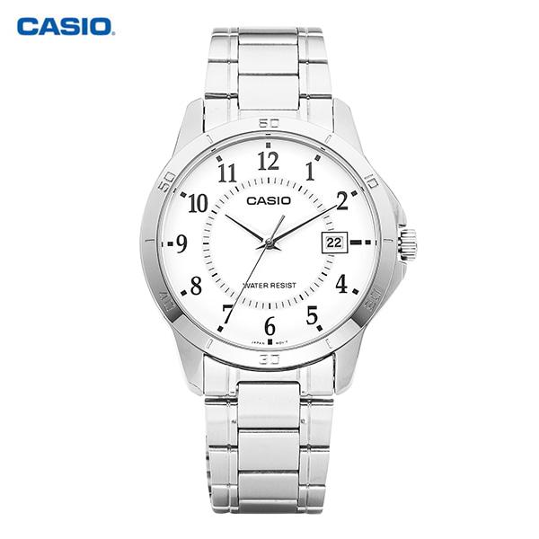 [카시오시계 CASIO] MTP-V004D-7BUDF / 아날로그 남성 클래식 매탈시계 41.5mm
