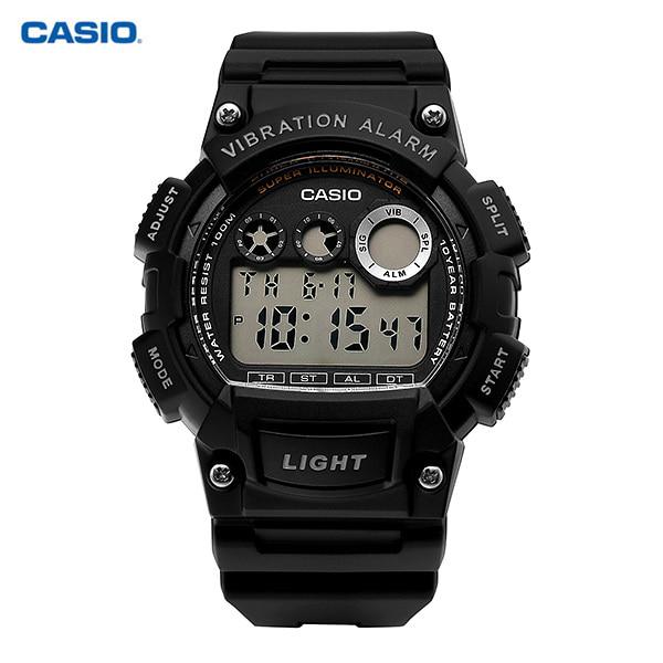 [카시오시계 CASIO] W-735H-1AVDF (W-735H-1A) / 디지털 스포츠 군인시계 남성 우레탄시계 44mm 타임메카