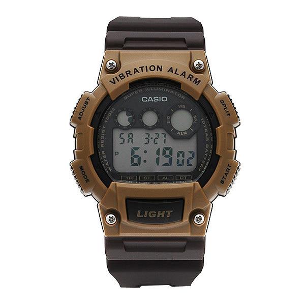 [카시오시계 CASIO] W-735H-5AVDF (W-735H-5A) 디지털 학생/군인 시계 45mm