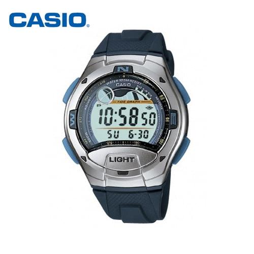 [카시오시계 CASIO] W-753-2AVDF (W-753-2A) 디지털 학생/군인/스포츠 시계 48x42mm