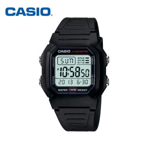 [카시오시계 CASIO] W-800H-1AVDF (W-800H-1A) 디지털 군인/스포츠 시계 36mm