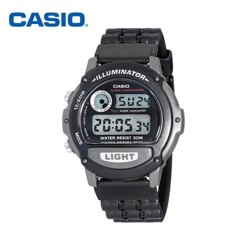 [카시오시계 CASIO] W-87H-1VHDR (W-87H-1V) 디지털 학생/군인시계 42mm