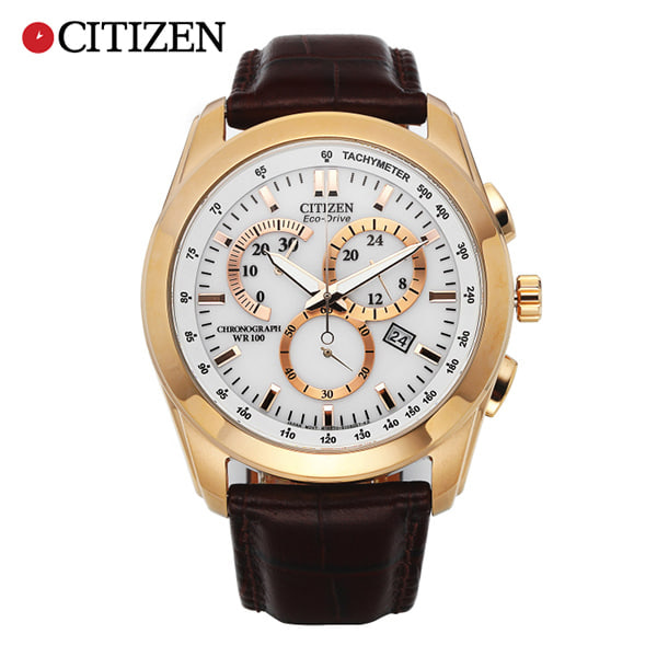 [시티즌시계 CITIZEN] AT1183-07A / 에코드라이브 타키미터 Eco-Drive Chronograph Tachymeter 42mm